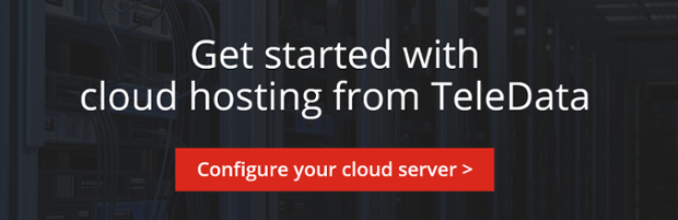 Get started with cloud hosting from TeleData