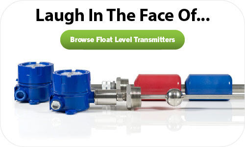 continuous float level transmitters for harsh conditions