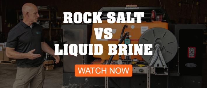 rock salt vs liquid brine