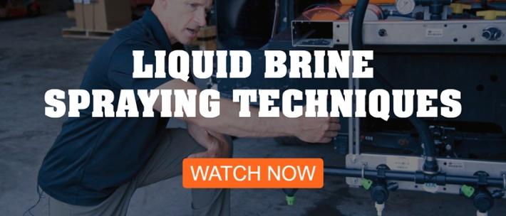 liquid-brine-spraying-techniques