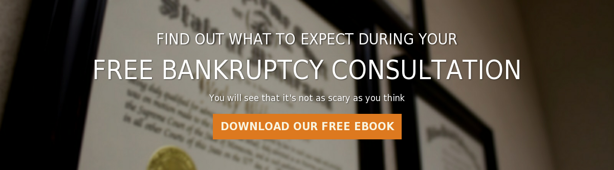 Find out what to expect during your  Free Bankruptcy Consultation  You will see that it's not as scary as you think Download our Free eBook