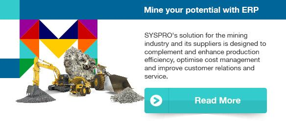 Mine your potential with ERP