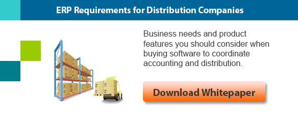 ERP Requirements for Distribution Companies Whitepaper Download