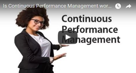 How do you know continuous performance management is working