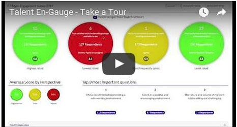 Talent En-Gauge video overview: employee engagement survey and analytical tool