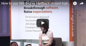 Identify potential for succession planning with 360 degree feedback