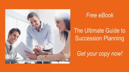 Succession planning software supporting talent management