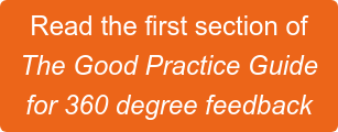 The Good Practice Guide for 360 degree feedback