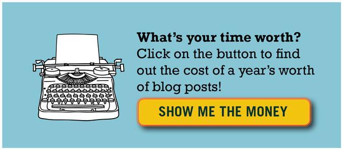 price of blog posts
