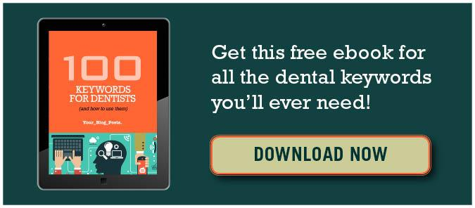 100 keywords for dentists