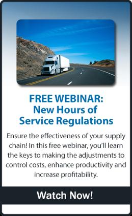 Watch The New HOS Regulations Webinar