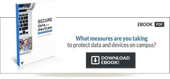 Protect data and devices on campus
