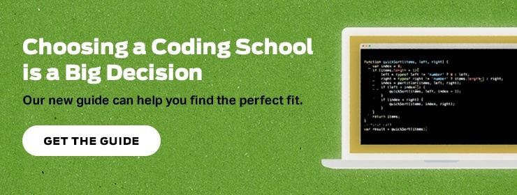 Guide to Choosing a Coding School CTA