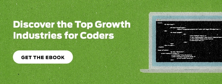 JRS Coding School Top Growth Industries for Coders