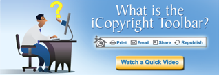 What is the iCopyright Toolbar explainer Video