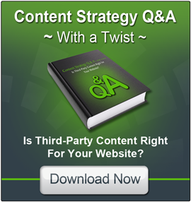 Content Strategy Q & A: Is Third Party Content Right for Your Website?