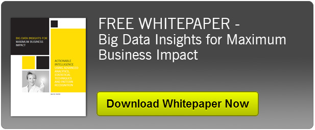 FREE WHITEPAPER - Big Data Insights for Maximum Business Impact