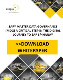SAP Master Data Governance Bridge to SAP S/4HANA-Utopia Global