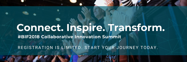 Connect. Inspire. Transform. Register #BIF2018