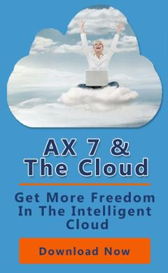 AX 7 & The Cloud