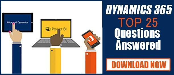 Dynamics 365 Q & A