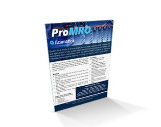 ProMRO Brochure