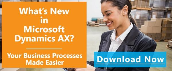What's New In Dynamics AX White Paper