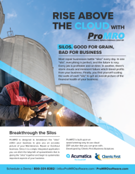 ProMRO Software Factsheet for MRO Industry