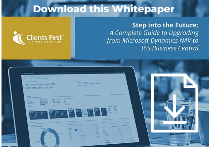 Download the Guide to Upgrading to Business Central