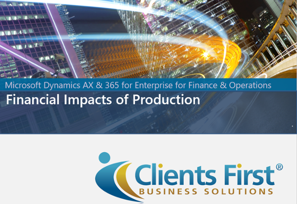 Watch Financial Impacts of Production