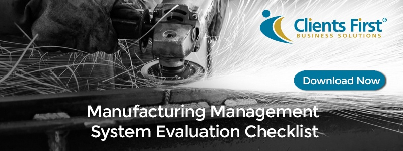 Manufacturing Management System Evaluation Checklist