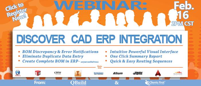 Webinar: CAD to ERP integration