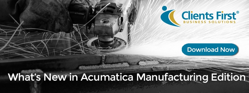 What's New in Manufacturing Edition