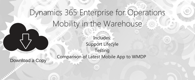 Dynamics 365 Mobility in the Warehouse