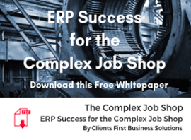 ERP Success For the Complex Job Shop Whitepaper