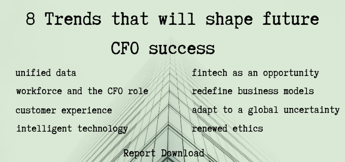 8 Trends that will shape future CFO success