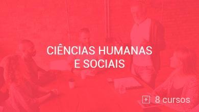 Conheça os cursos de Ciências Humanas e Sociais