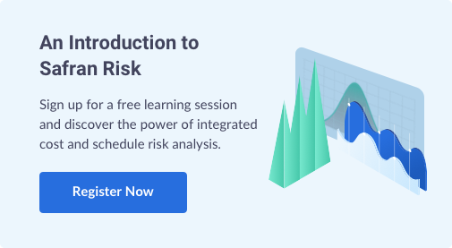 An Introduction to Safran Risk Sign up for a free learning session and discover the power of integrated cost and schedule risk analysis.