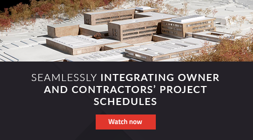 Integrating Owner and Contractor Project Schedules