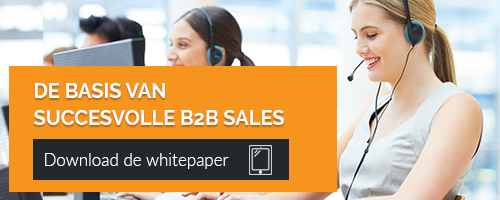 Succesvolle B2B-sales whitepaper