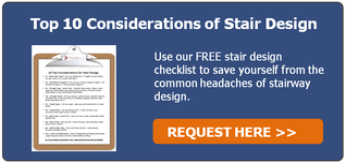 Top 10 Considerations of Stair Design