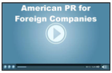 American PR for Foreign Companies