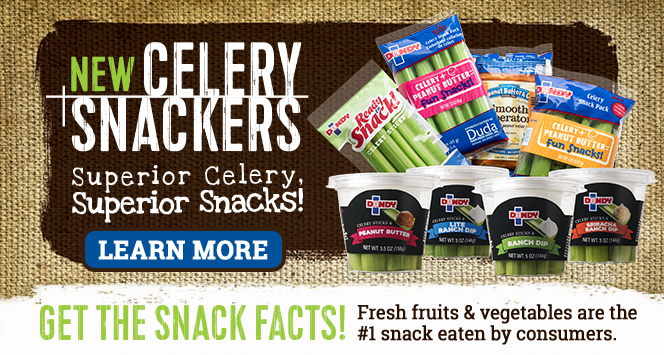 Dandy Celery Snackers