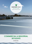 Commercial and industrial skylights translucent sheeting