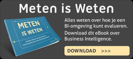 Ebook Business Intelligence omgeving 'Meten is weten'