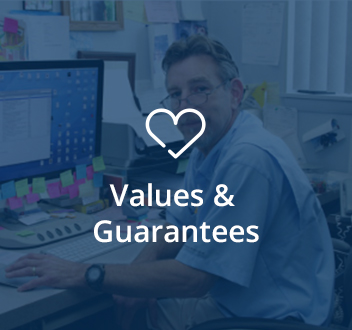Values & Guarantees