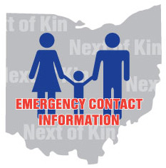 Emergency Contact Information, Next of Kin