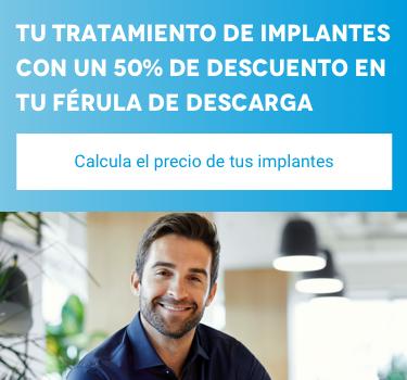 Calcula el precio de tus implantes