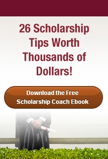 Download the Free  Scholarship Coach Ebook!