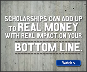 Scholarships Add Up To Real Money: Watch The Video